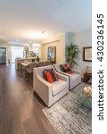 luxury modern living suite ... | Shutterstock . vector #430236145