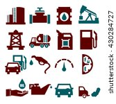 oil icon set | Shutterstock .eps vector #430284727