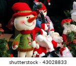 Snowball And Soft Toys At...