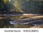 Creek Off Murray River In Rura...