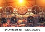 hi fi audio stereo system sound ...   Shutterstock . vector #430330291