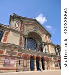 Small photo of LONDON - MAY 15, 2016. Alexandra Palace, a historic entertainment, exhibition and events venue dating from 1873, informally known as Ally Pally, located in north London, UK.