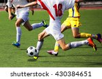 football game at the stadium.... | Shutterstock . vector #430384651