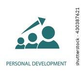 personal development    Shutterstock .eps vector #430387621