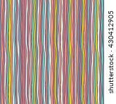 seamless vector pattern   hand...   Shutterstock .eps vector #430412905