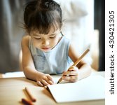 painting offspring activity... | Shutterstock . vector #430421305