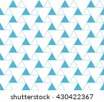 triangular background. seamless ... | Shutterstock .eps vector #430422367