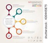 template for modern... | Shutterstock .eps vector #430445875