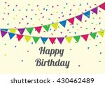 anniversary banner sets. party... | Shutterstock .eps vector #430462489