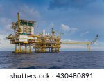 oil and gas industry in the... | Shutterstock . vector #430480891