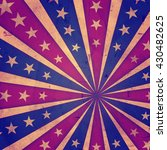 retro american background with... | Shutterstock . vector #430482625