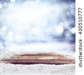 winter background of top  | Shutterstock . vector #430510777