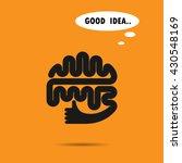 brain logo silhouette design...   Shutterstock .eps vector #430548169