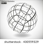 abstract futuristic background... | Shutterstock .eps vector #430559329