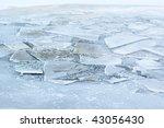 Frozen River Background