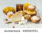 selection of bad sources of... | Shutterstock . vector #430565551