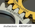 stakeholder engagement concept... | Shutterstock . vector #430589149