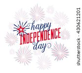 4th of july background. fourth... | Shutterstock .eps vector #430621201
