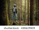 Hooded Young Man Standing In...