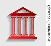 historical building illustration | Shutterstock .eps vector #430636075