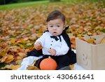 Halloween Baby Boy In Dracula...