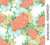 abstract elegance seamless... | Shutterstock . vector #430695019