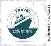 travel design.  tourism icon.... | Shutterstock .eps vector #430712161