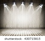 illuminated empty concert stage ... | Shutterstock . vector #430715815