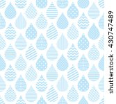 seamless pattern with... | Shutterstock .eps vector #430747489