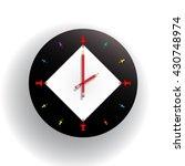 vector mechanical modern round... | Shutterstock .eps vector #430748974