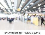 abstract blur airport passenger ... | Shutterstock . vector #430761241
