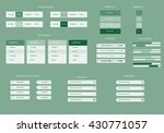 business web graphics elements... | Shutterstock .eps vector #430771057