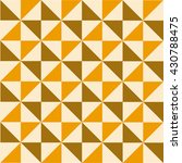 retro  geometrical pattern with ... | Shutterstock .eps vector #430788475