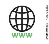 world wide web   Shutterstock .eps vector #430791361