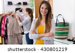 clothing boutique  | Shutterstock . vector #430801219
