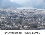 view of shimoyoshida town from... | Shutterstock . vector #430816957