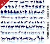 animal,bat,bear,bird,bug,butterfly,cat,collection,cow,crab,crocodile,deer,dog,donkey,eagle