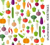 vegetables background  ... | Shutterstock .eps vector #430878661