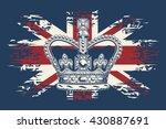 stylized illustration of the... | Shutterstock .eps vector #430887691