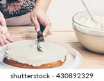 vintage style photo of a lady... | Shutterstock . vector #430892329