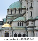 alexander nevski cathedral in... | Shutterstock . vector #430895245