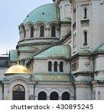 alexander nevski cathedral in... | Shutterstock . vector #430895245