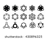 vector abstract geometric icons ...