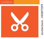vector scissors | Shutterstock .eps vector #430897099