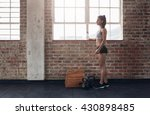 full length shot of young... | Shutterstock . vector #430898485