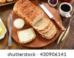whole grain bread | Shutterstock . vector #430906141