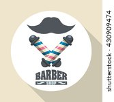 barber shop. hair care concept. ...   Shutterstock .eps vector #430909474