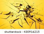 abstract 3d rendering of... | Shutterstock . vector #430916215