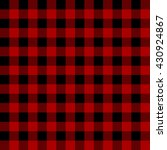 lumberjack plaid pattern vector | Shutterstock .eps vector #430924867