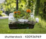 Recycled Plastic Planter With...